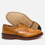 Мужские ботинки броги Tricker's Brogue Bourton Sole Leather Acorn Antique фото- 2