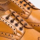 Мужские ботинки броги Tricker's Brogue Bourton Sole Leather Acorn Antique фото- 5