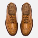 Мужские ботинки броги Tricker's Brogue Bourton Sole Leather Acorn Antique фото- 4
