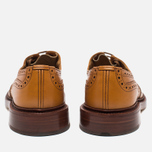 Мужские ботинки броги Tricker's Brogue Bourton Sole Leather Acorn Antique фото- 3