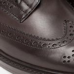 Мужские ботинки броги Tricker's Brogue Bourton Sole Dainite Espresso Burnished фото- 7