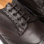 Мужские ботинки броги Tricker's Brogue Bourton Sole Dainite Espresso Burnished фото- 6