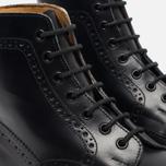 Мужские ботинки броги Tricker's Heavy Brogue Stow Black Calf фото- 5