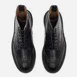 Мужские ботинки броги Tricker's Heavy Brogue Stow Black Calf фото- 4