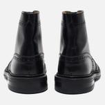 Мужские ботинки броги Tricker's Heavy Brogue Stow Black Calf фото- 3