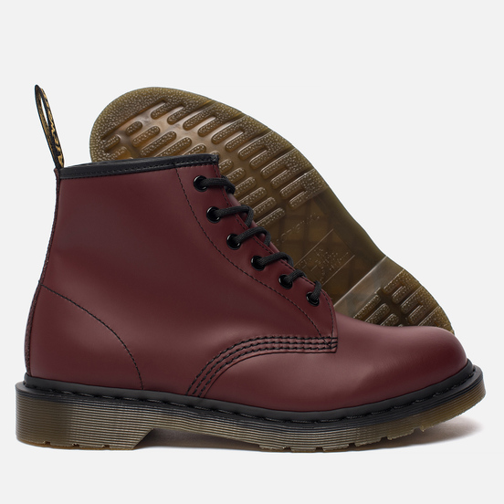 Ботинки Dr. Martens 101 Smooth Cherry Red