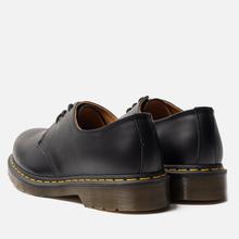Ботинки Dr. Martens 1461 Yellow Stitch Smooth Black фото- 2