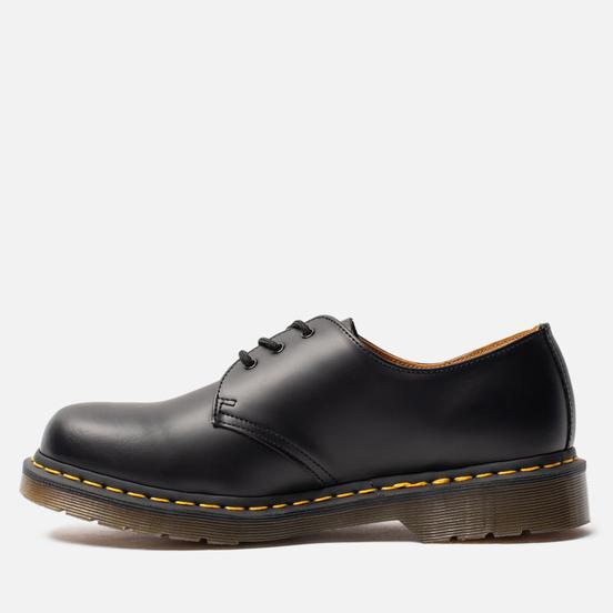 Мужские ботинки Dr. Martens 1461 Yellow Stitch Smooth Black