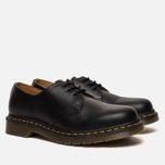 Ботинки Dr. Martens 1461 Yellow Stitch Smooth Black фото- 1