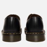Ботинки Dr. Martens 1461 Yellow Stitch Smooth Black фото- 3