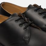 Ботинки Dr. Martens 1461 Yellow Stitch Smooth Black фото- 5