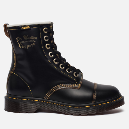 Ботинки Dr. Martens Capper Vintage Smooth Black