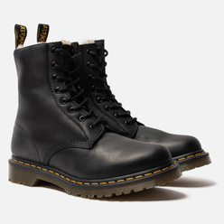 Ботинки Dr. Martens Serena Fur Lined Burnished Wyoming Black