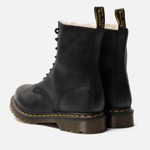 Зимние ботинки Dr. Martens Serena Fur Lined Burnished Wyoming Black фото- 2