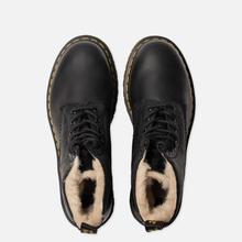 Зимние ботинки Dr. Martens Serena Fur Lined Burnished Wyoming Black фото- 1