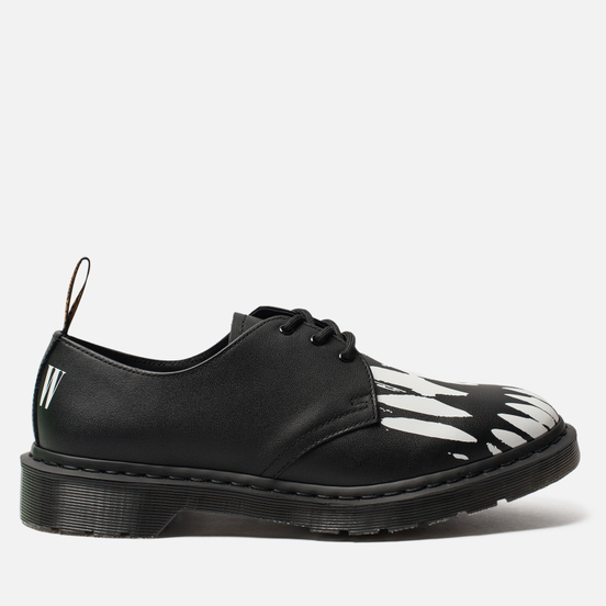 Ботинки Dr. Martens x Pleasures 1461 Teeth Black/White