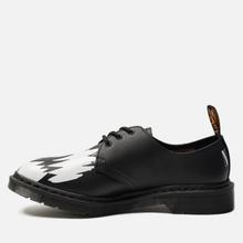 Ботинки Dr. Martens x Pleasures 1461 Teeth Black/White фото- 1