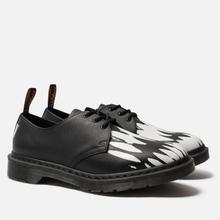Ботинки Dr. Martens x Pleasures 1461 Teeth Black/White фото- 2