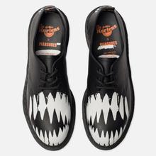 Ботинки Dr. Martens x Pleasures 1461 Teeth Black/White фото- 5
