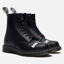 Мужские ботинки Dr. Martens x Sex Pistols 1460 Smooth Leather Black Milled