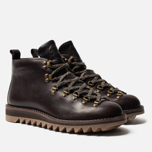Ботинки Fracap M120 Nebraska Dark Brown/Ripple Ambra фото- 0