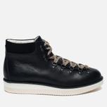 Ботинки Fracap M129 Scarponcini Suede Black/Gloxy White фото- 0