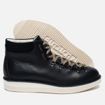 Ботинки Fracap M129 Scarponcini Suede Black/Gloxy White фото- 1