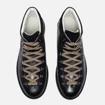 Ботинки Fracap M129 Scarponcini Suede Black/Gloxy White фото- 3
