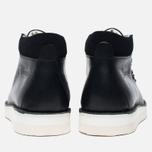 Ботинки Fracap M129 Scarponcini Suede Black/Gloxy White фото- 4