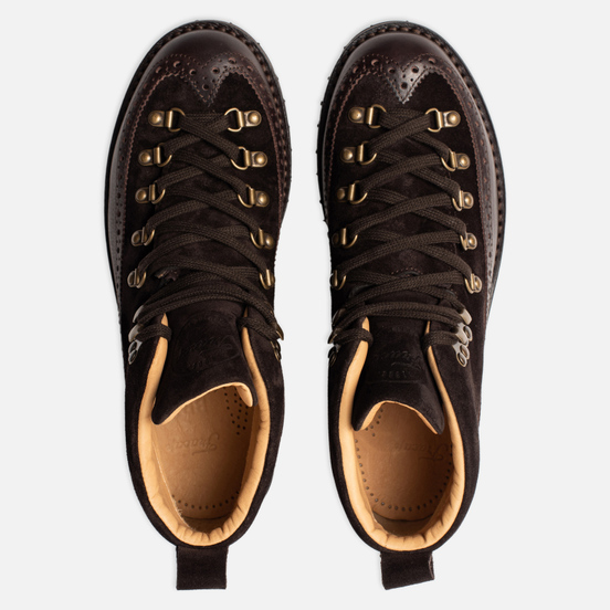 Ботинки Fracap M130 Suede/Nebraska Dark Brown/Roccia Brown