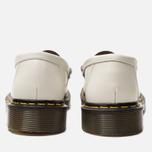 Ботинки лоферы Dr. Martens x Stussy Penton New Vibrance Croco White/Black Smooth фото- 6