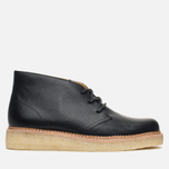 Мужские ботинки Clarks Originals Beckery Hill Black Leather фото- 0