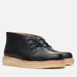 Мужские ботинки Clarks Originals Beckery Hill Black Leather фото- 1