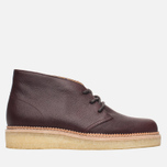 Мужские ботинки Clarks Originals Beckery Hill Wine Leather фото- 0