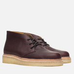 Мужские ботинки Clarks Originals Beckery Hill Wine Leather фото- 1