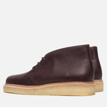 Мужские ботинки Clarks Originals Beckery Hill Wine Leather фото- 2