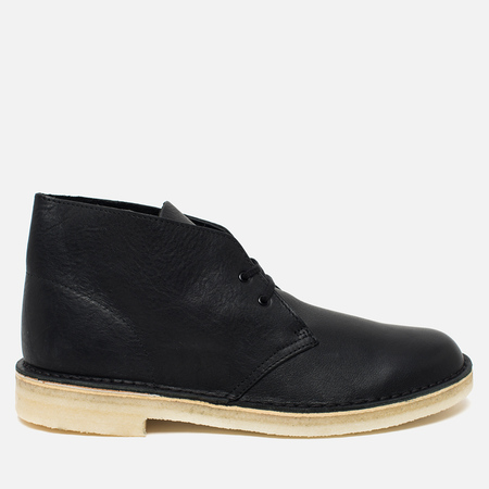 Мужские ботинки Clarks Originals Desert Boot Black Tumbled Leather