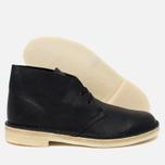 Мужские ботинки Clarks Originals Desert Boot Black Tumbled Leather фото- 2