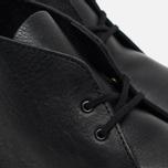 Мужские ботинки Clarks Originals Desert Boot Black Tumbled Leather фото- 5