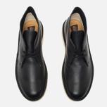 Мужские ботинки Clarks Originals Desert Boot Black Tumbled Leather фото- 4