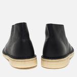 Мужские ботинки Clarks Originals Desert Boot Black Tumbled Leather фото- 3