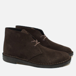 Мужские ботинки Clarks Originals Desert Boot Suede Brown фото- 1