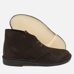 Мужские ботинки Clarks Originals Desert Boot Suede Brown фото- 2