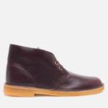 Мужские ботинки Clarks Originals Desert Boot Wine Leather фото- 0