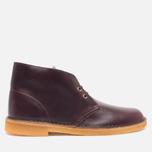 Мужские ботинки Clarks Originals Desert Boot Wine Leather фото- 0