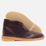 Мужские ботинки Clarks Originals Desert Boot Wine Leather фото- 2