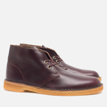 Мужские ботинки Clarks Originals Desert Boot Wine Leather фото- 1