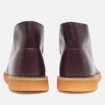 Мужские ботинки Clarks Originals Desert Boot Wine Leather фото- 3