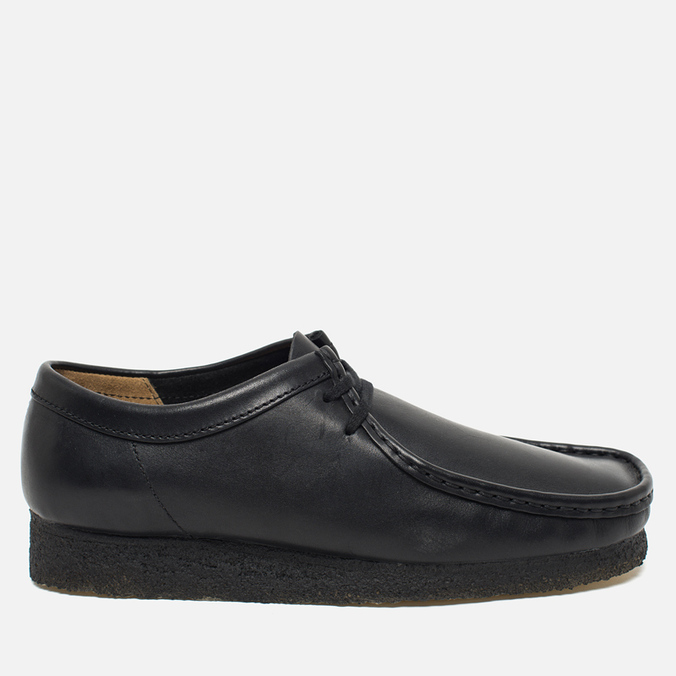 Мужские ботинки Clarks Originals Wallabee Black