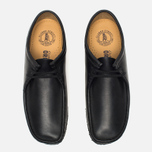 Мужские ботинки Clarks Originals Wallabee Black фото- 4
